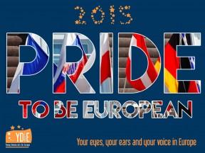 Pride to be European