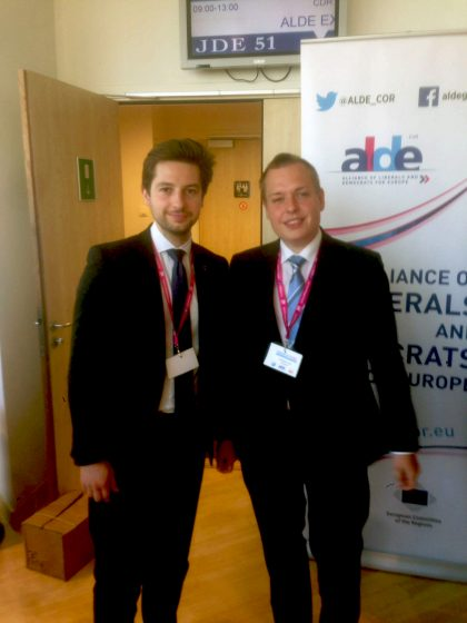 YDE @ ALDE CoR Young Leaders' Summit